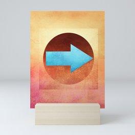 Arrow Composition VI Mini Art Print
