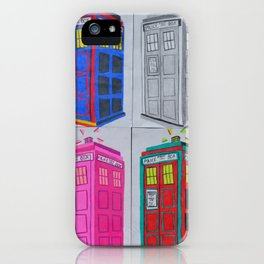 Anywhere in Time and Space iPhone Case