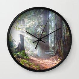 First Light Wall Clock