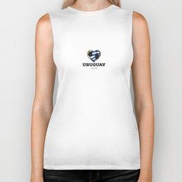 Uruguay Soccer Shirt 2016 Biker Tank