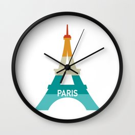 Addicted To Paris Wall Clock