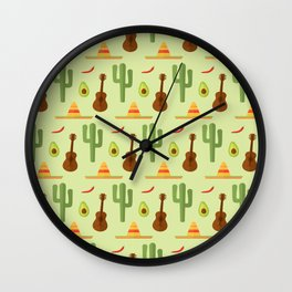 Mexican style Wall Clock