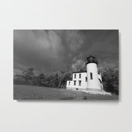 Admiralty Head Lighthouse Metal Print