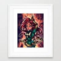 cassandra jean Framed Art Prints featuring Jean by Tim Shumate