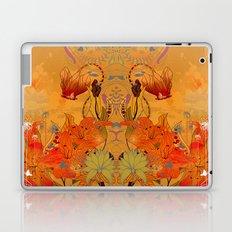 Boho Floral Pattern Laptop & iPad Skin