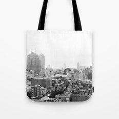 Lower East Side Skyline #3 Tote Bag