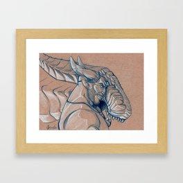 The Iron Dragon Framed Art Print