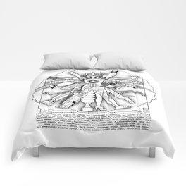 The Vitruvian Machine Comforters