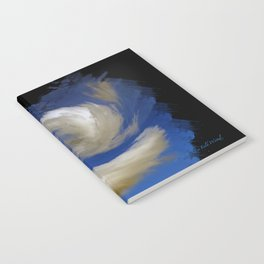 """Restless Love Clouds"" Notebook"