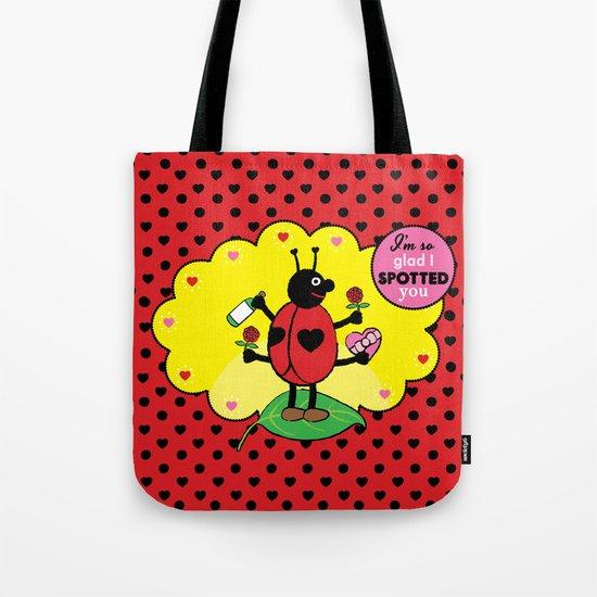Lovebugs - I'm so glad I spotted you Tote Bag