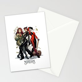 Sirens Gotham city Stationery Cards