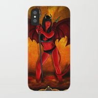 devil iPhone & iPod Cases featuring Devil by Joey Gates