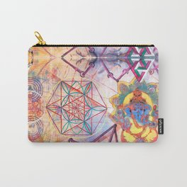 Hindu Geo Psych Carry-All Pouch