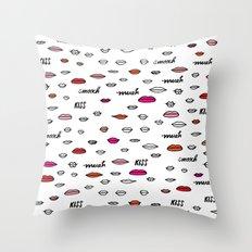 MUAH MUAH Throw Pillow