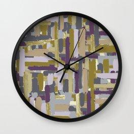 abstract marks Wall Clock