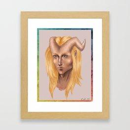 Son of the Sun Framed Art Print