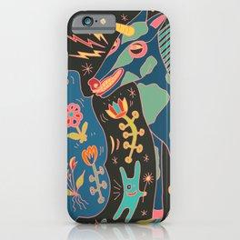 Unicorn Babble iPhone Case
