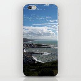 Coastal view iPhone Skin