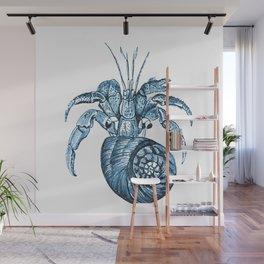Fish nautical sea blue watercolor Wall Mural