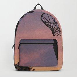 Basketball Sunset Backpack