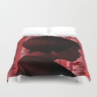 camus Duvet Covers featuring Byronic IV by Boris Pelcer