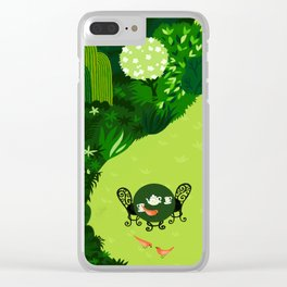 the tao of gardening Clear iPhone Case