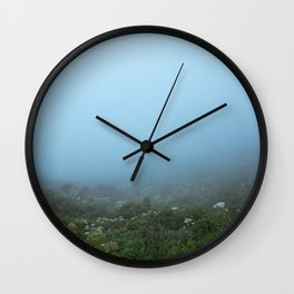 Fog-get About It Wall Clock
