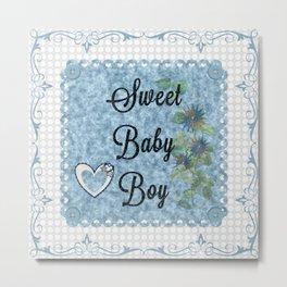 Sweet Baby Boy Metal Print