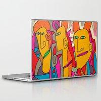 rabbits Laptop & iPad Skins featuring - rabbits - by Magdalla Del Fresto