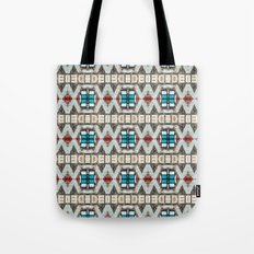 Manhattan Hieroglyphics Tote Bag