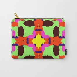 Key Lime Sun Bugs Squared Carry-All Pouch