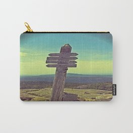 Penobscot Mountain Sign Carry-All Pouch