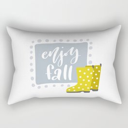 Enjoy Fall Rectangular Pillow