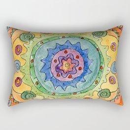Be Colorful Rectangular Pillow