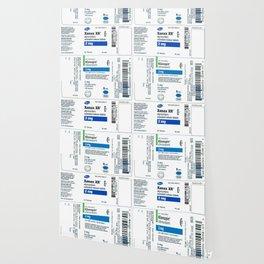 Drug Labels Wallpaper