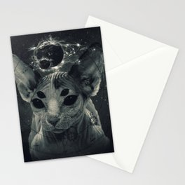 CosmicSphynx Stationery Cards