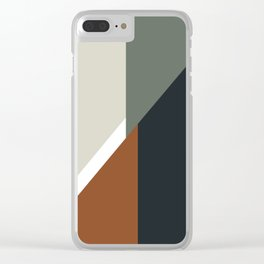 MidMod Variation 01 Clear iPhone Case