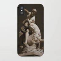 hercules iPhone & iPod Cases featuring Hercules Killing the Centaur by blue0burak