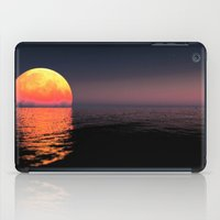 moonrise iPad Cases featuring Moonrise by Tobias Bowman