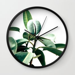 Green rapsody Wall Clock