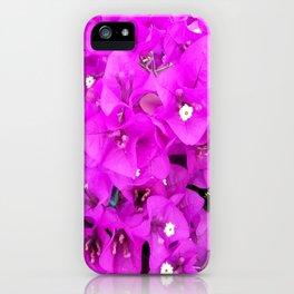 Backyard Beauty - Purple Petals iPhone Case