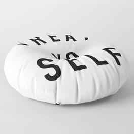 Treat Yo Self Floor Pillow