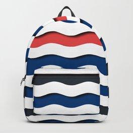 wave life pattern Backpack