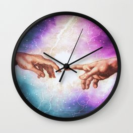 The Creation of Adam Wall Clock