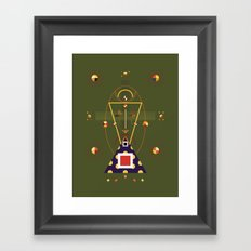 chalke Framed Art Print