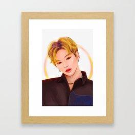 Kang Daniel Framed Art Print