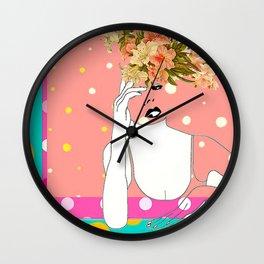 Lordy May Wall Clock