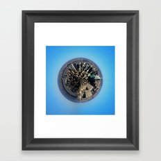 Planet New York Framed Art Print