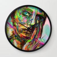 archan nair Wall Clocks featuring Drift by Archan Nair