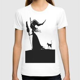 WITCH & CAT T-shirt